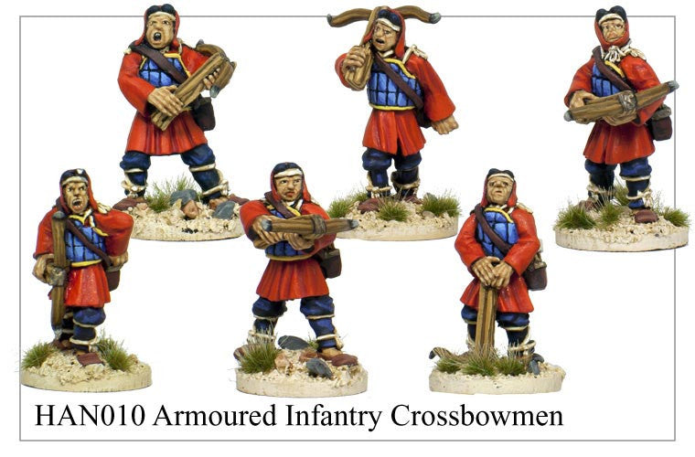 Armoured Chinese Crossbowmen (HAN010)