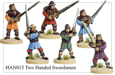 Chinese Two Handed Swordsmen (HAN013)