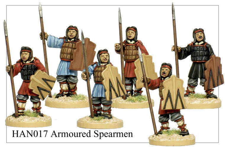 Armoured Chinese Spearmen (HAN017)