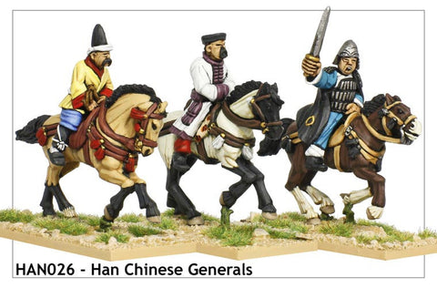 Mounted Chinese Generals (HAN026)