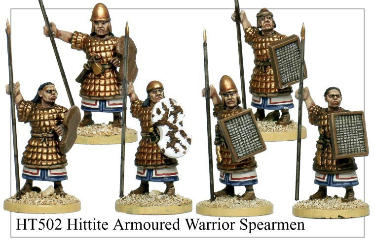 Armoured Hittite Spearmen (HT502)