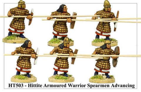 Armoured Hittite Spearmen Advancing (HT503)
