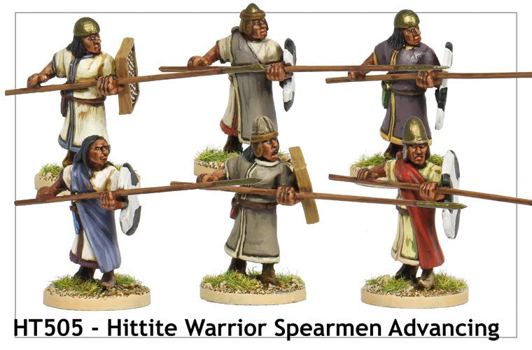 Hittite Spearmen Advancing (HT505)