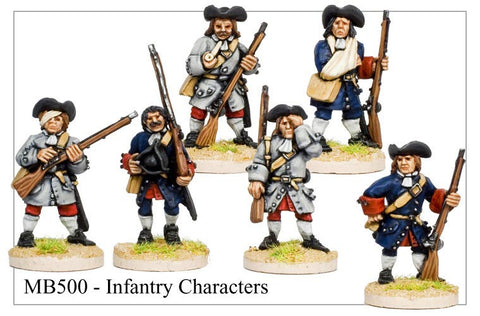 Infantry Characters (MB500)