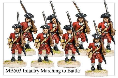 Infantry Marching (MB503)