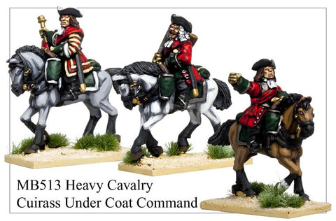 Heavy Cavalry with Cuirass worn under coat Command (MB513)