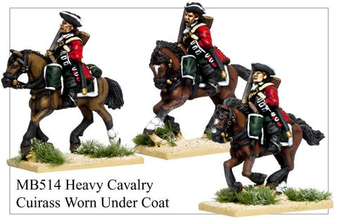 Heavy Cavalry with Cuirass worn under coat (MB514)