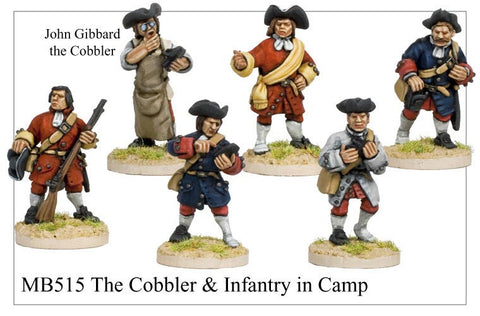 The Cobbler and Infantry in Camp (MB515)