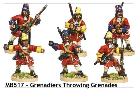 Grenadiers Throwing Grenades (MB517)