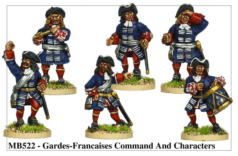 Gardes Francaises Command and Characters (MB522)