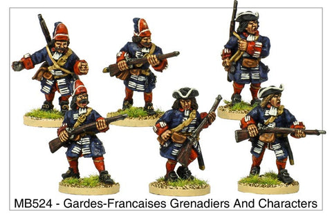 Gardes Francaises Grenadiers and Characters (MB524)