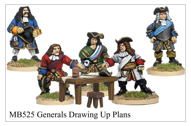 Marlburian Generals Drawing up Plans (MB525)