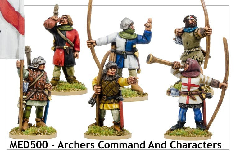 Medieval Archers Command and Characters (MED500)