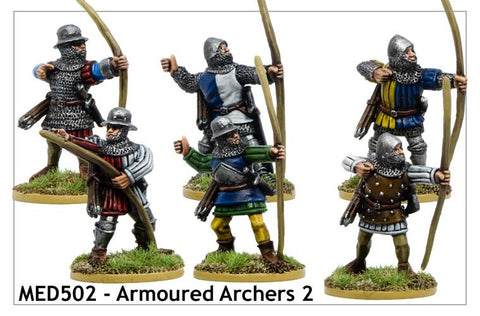 Armoured Medieval Archers 2 (MED502)