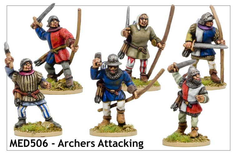 Medieval Archers Attacking (MED506)