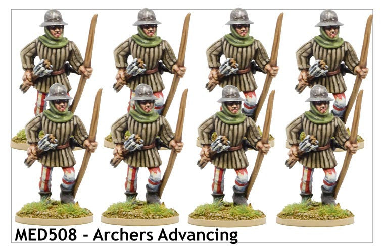 Medieval Archers Advancing (MED508)