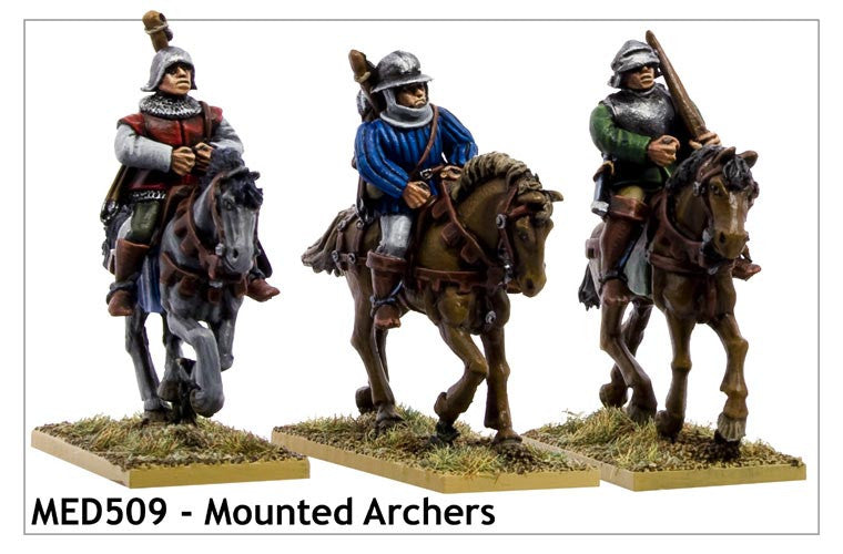 Mounted Medieval Archers (MED509)