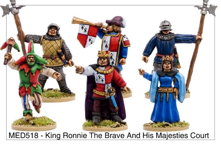 King Ronnie the Brave and His Majesties Court (MED518)