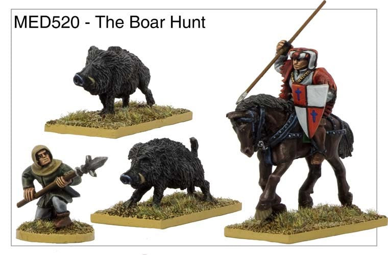 The Boar Hunt (MED520)