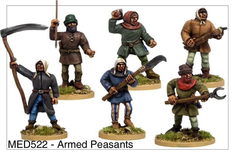 Armed Medieval Peasants (MED522)