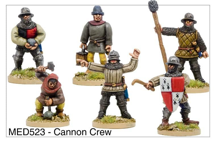 Medieval Cannon Crew (MED523)