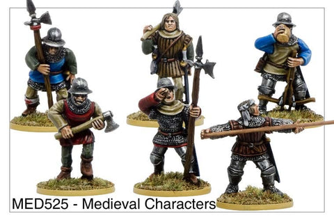 Medieval Characters (MED525)