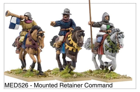 Mounted Medieval Retainer Command (MED526)