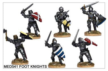 Medieval Foot Knights (MED541)