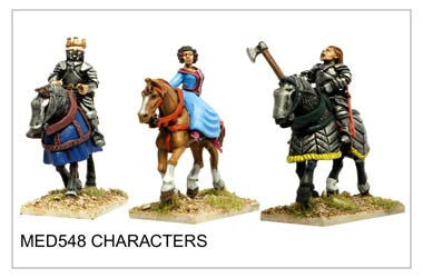 Mounted Medieval Characters (MED548)