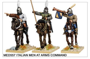 Medieval Italian Men at Arms Command (MED557)
