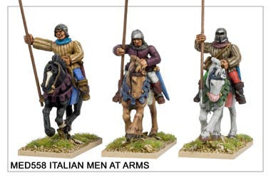 Medieval Italian Men at Arms 1 (MED558)