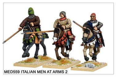 Medieval Italian Men at Arms 2 (MED558)