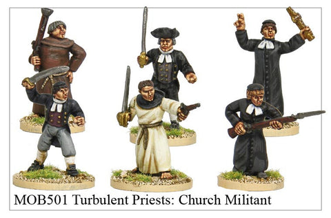 Turbulent Priests: Church Militant (MOB501)