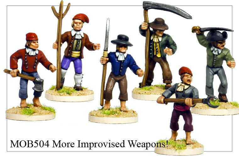 More Improvised Weapons (MOB504)