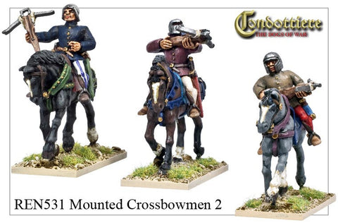 Mounted Crossbowmen 2 (REN531)