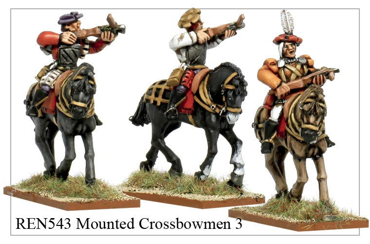 Mounted Crossbowmen 3 (REN543)