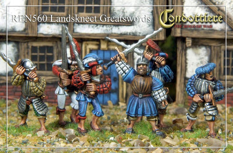 Landsknecht Greatswords (REN560)