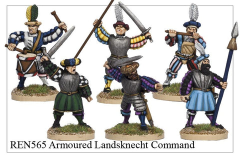 Armoured Landsknecht Command (REN565)