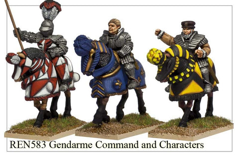 Gendarme Command and Characters (REN583)