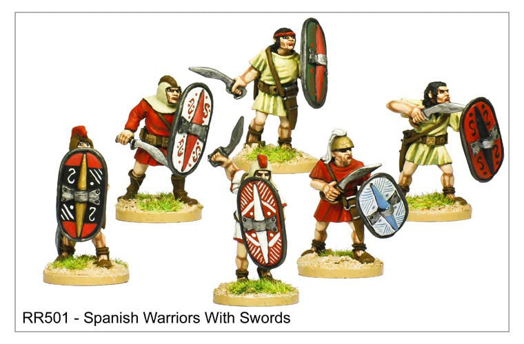 Spanish Warriors with Swords (RR501)