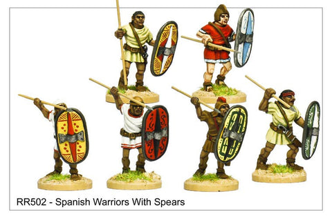 Spanish Warriors with Spears (RR502)