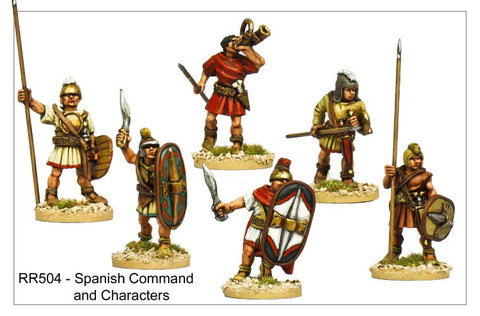 Spanish Command and Characters (RR504)