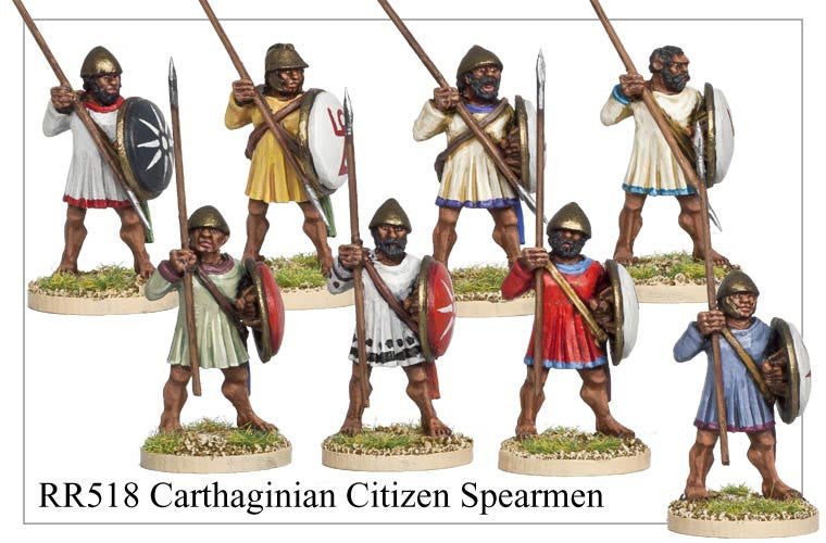 Carthaginian Citizen Spearmen (RR518)