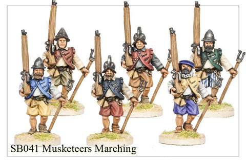Musketeers Marching (SB041)