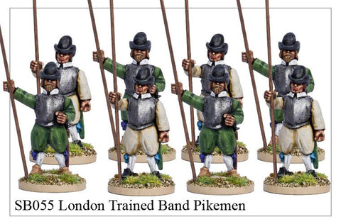 London Trained Band Pikemen (SB055)
