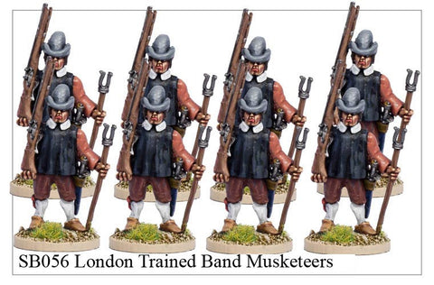 London Trained Band Musketeers (SB056)