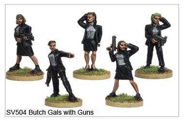 Butch Gals with Guns (SV504)