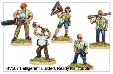 Belligerent Builders Ready for Trouble (SV507)