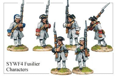 French Fusilier Characters (SYWF004)