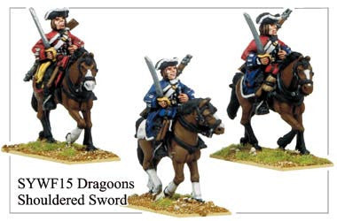 Dragoons with Shouldered Swords (SYWF015)